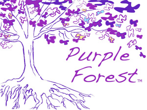Purple Forest 2 -resized