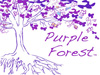 Purple Forest 3 -resized